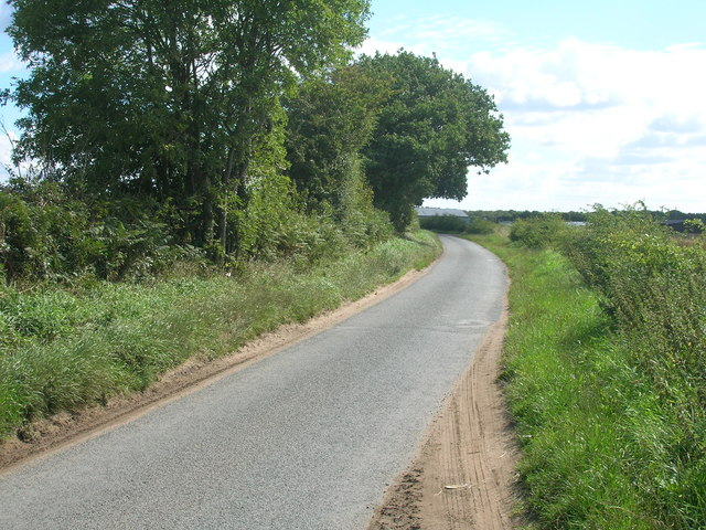 King Rudding Lane heading east