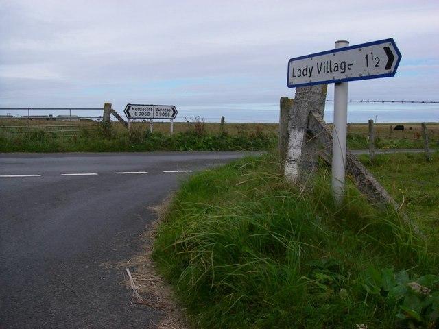 B9068 junction