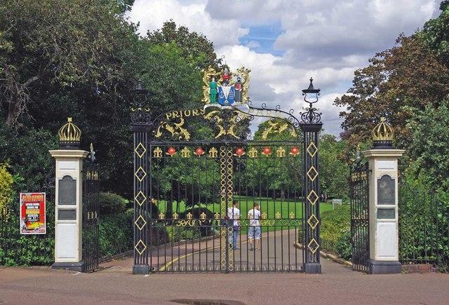 Priory Park Gates