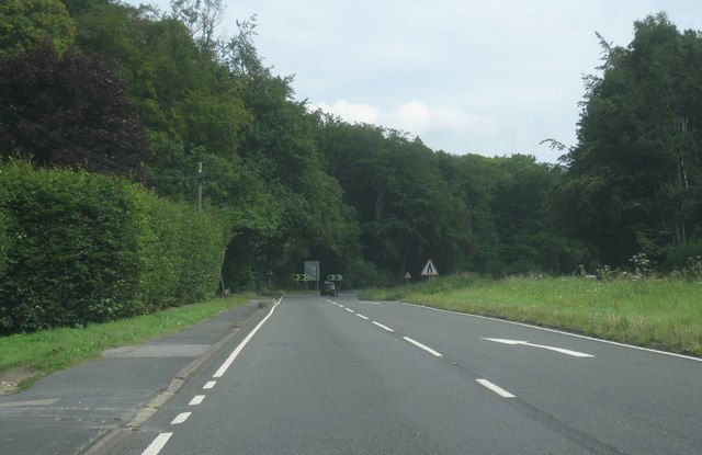 Driving up Star Hill (A30)