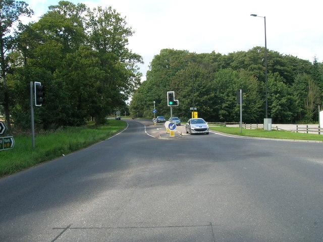 A19 heading north at Crockey Hill