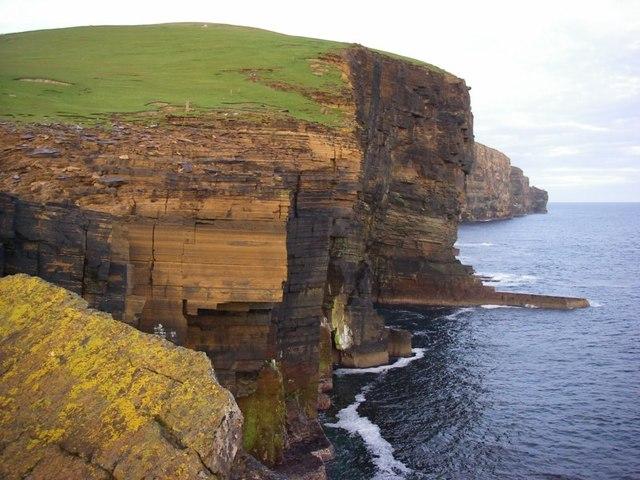 Cliffs at Costa Head