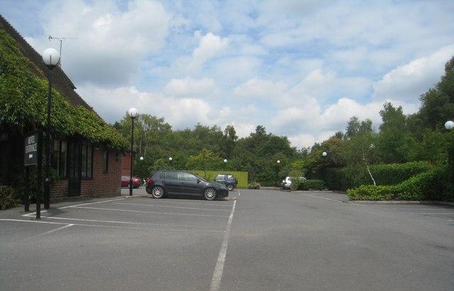 Pub car park - The Ely (A30)