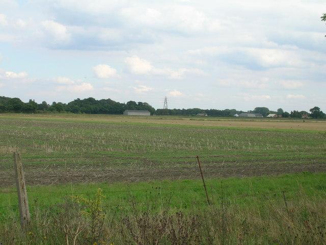 Farmland near Naburn Wood