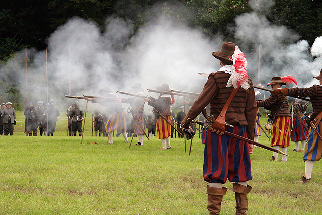 The Battle of Philiphaugh re-enactment, 2011