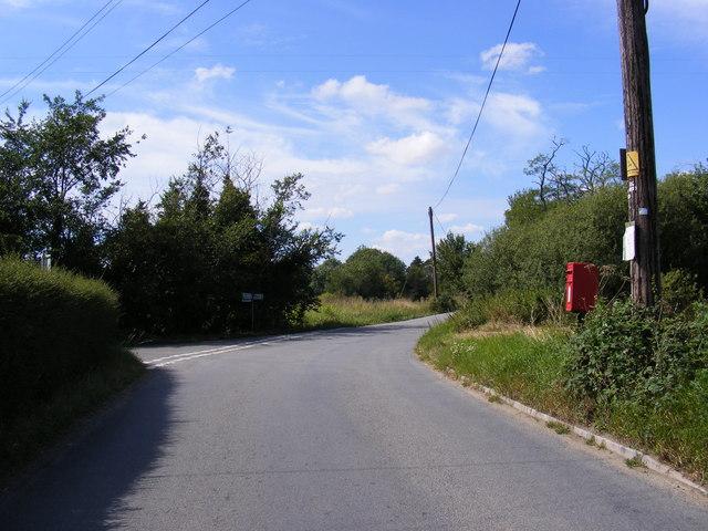 Stoney Road & Gull Corner Postbox