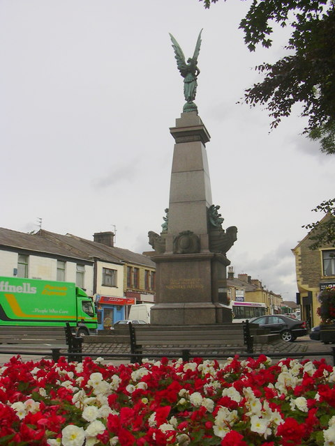 Oswaldtwistle War Memorial, Lancashire