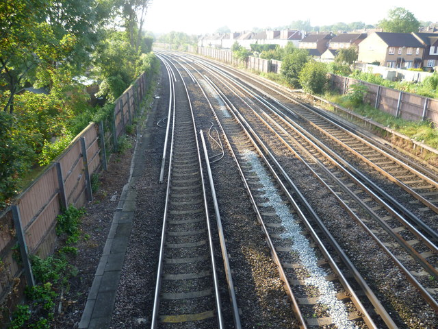 Railway between Shortlands and Bromley South