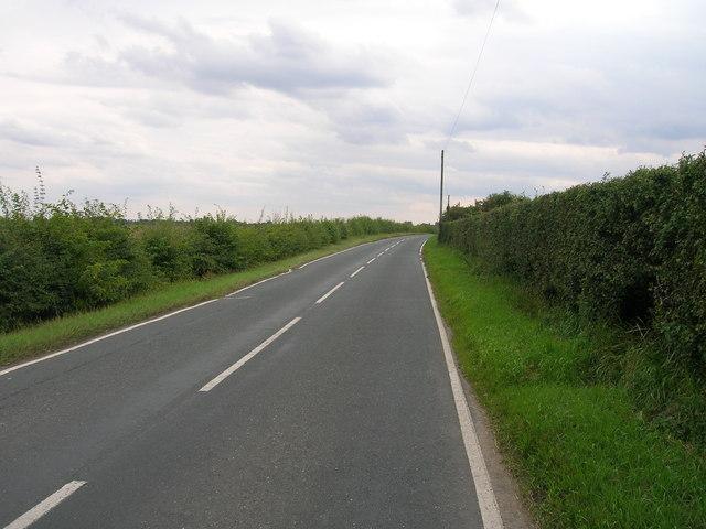 B1222 towards Cawood