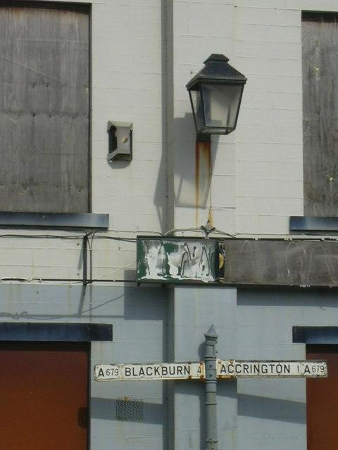 """""""The Commercial"""" (Pub) Church nr Accrington, Lancashire"""