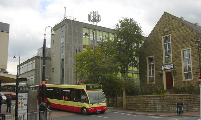 Accrington Bus Station and Telephone Exchange