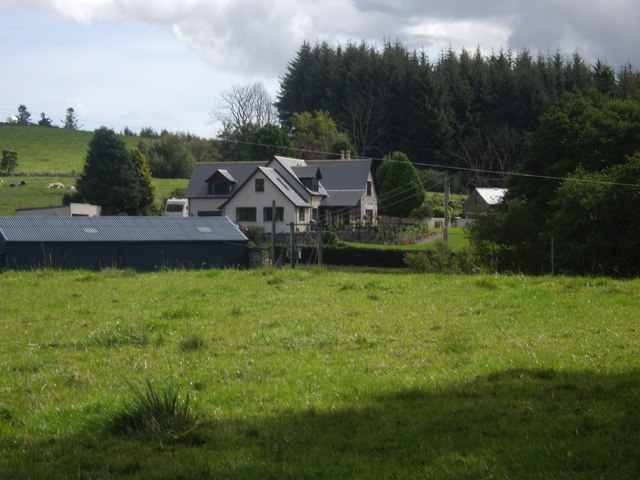 A house on Craigmyle Road, Torphins