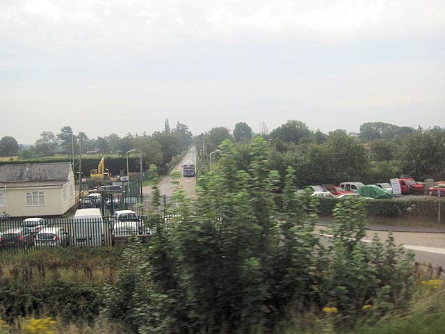 Shawbury road at Wem