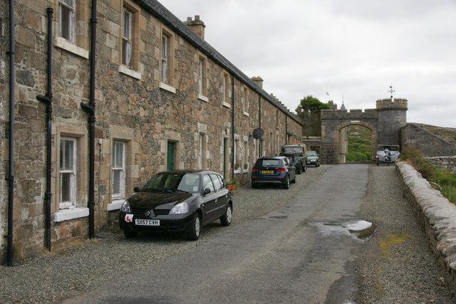 Houses at Amhuinnsuidhe