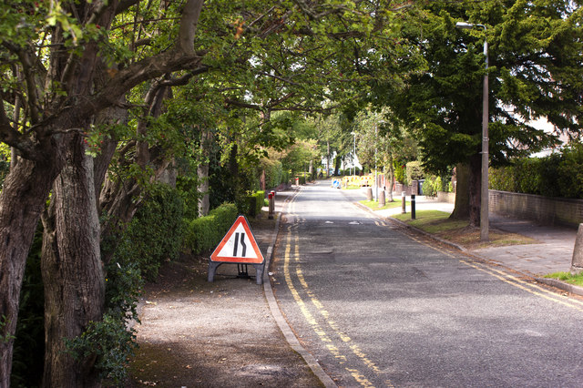 Roadworks in Coroner's Lane