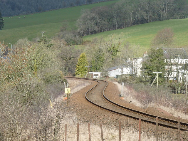 Pinwherry Railway