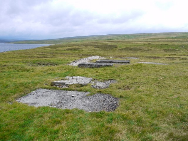 Site of Rod's Vein, Cow Green Reservoir