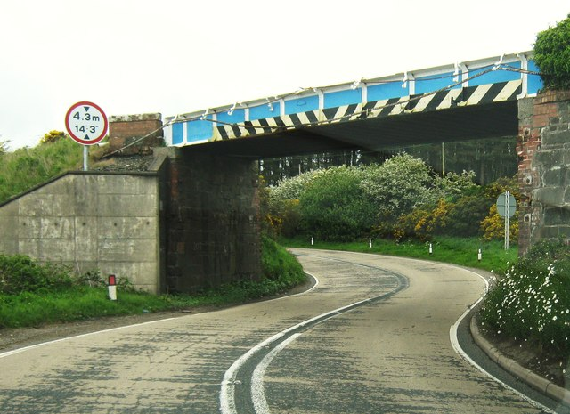 Challoch Bridge on the A75