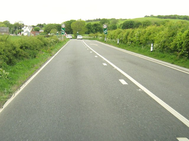 Approaching Dunragit