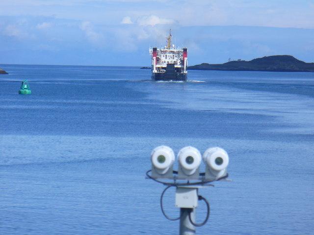 Car Ferry on Loch Baghasdail