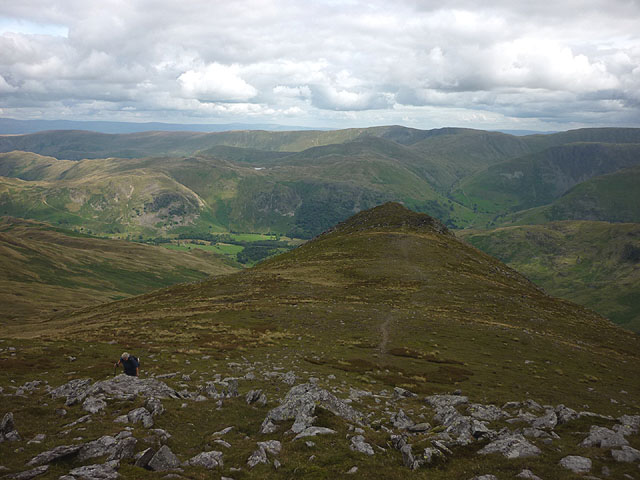 Gavel Pike from The Cape, St Sunday Crag