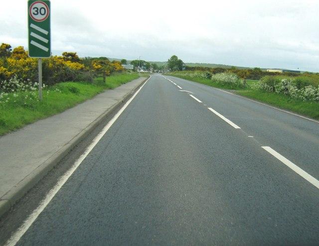 Approaching Stranraer