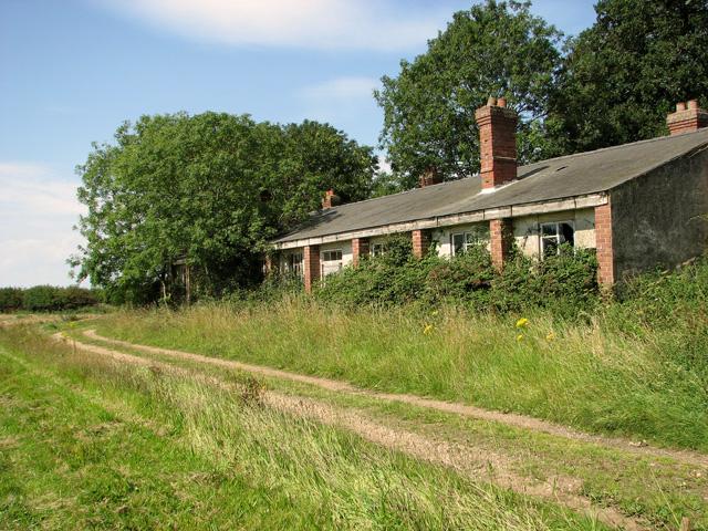 Building on the former RAF Sedgeford site
