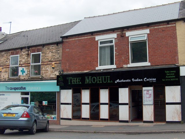 Indian Restaurant at Totley Rise