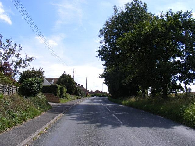 Ipswich Road, Grundisburgh & Village Hall Postbox
