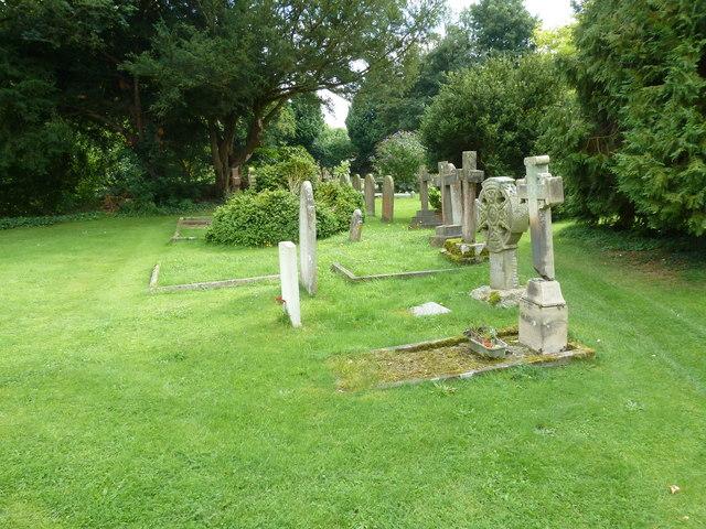 Holy Rood, Holybourne: churchyard (b)