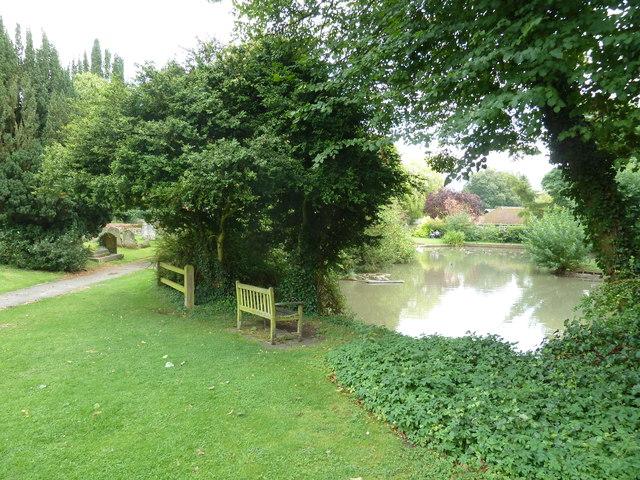 Holy Rood, Holybourne: churchyard (c)