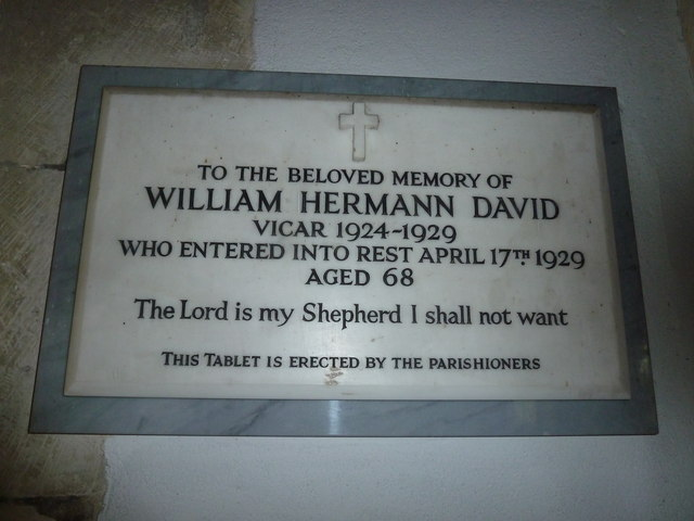 Holy Rood, Holybourne: memorial(3)