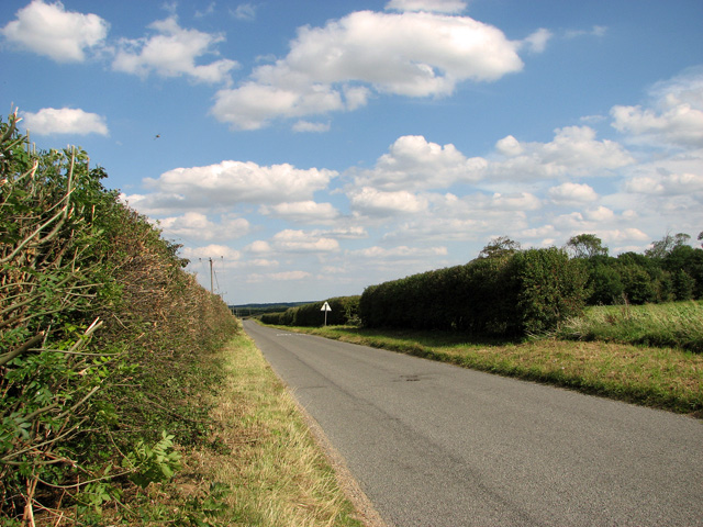 The road to North Creake