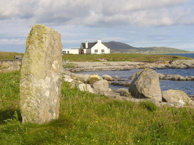 Standing Stone at Pollochar