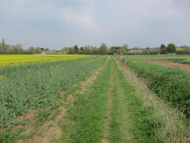 Footpath to Weston Green