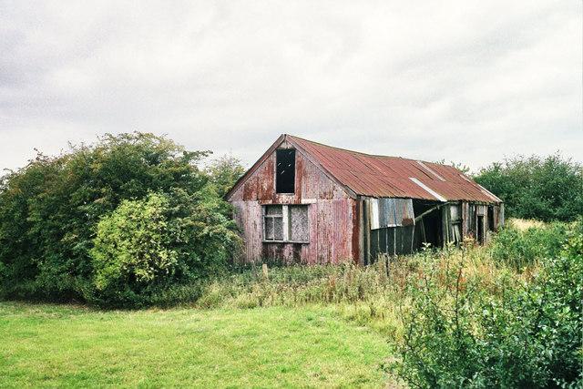 Iron shed
