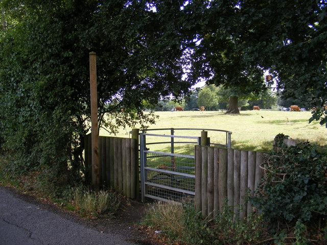 Footpath to Grundisburgh Road
