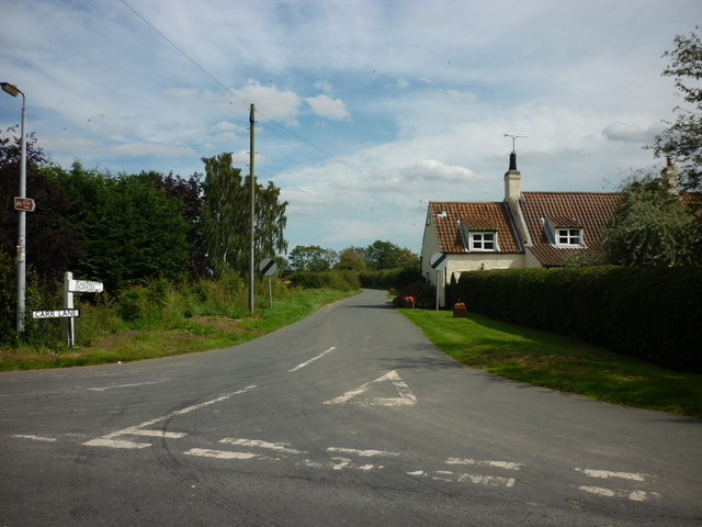 Carr Lane towards Millindale