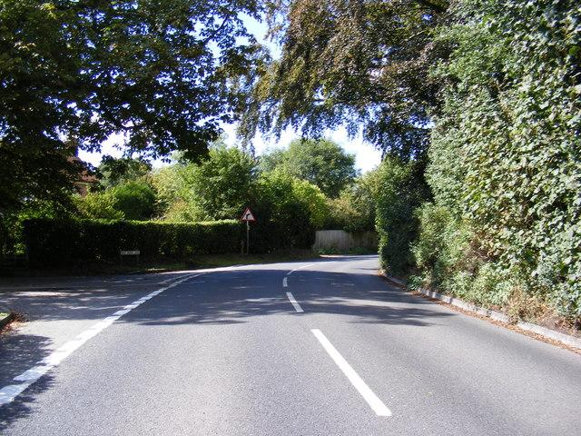 B1079 Woodbridge Road, Grundisburgh