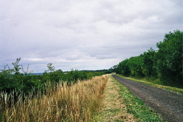 Bridleway into Rutland