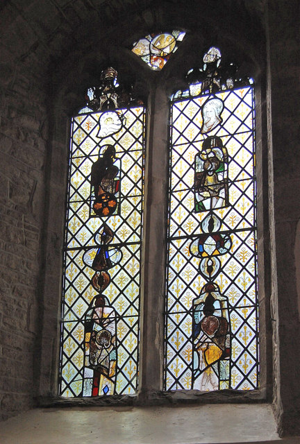 Stained glass window, Tarrington church
