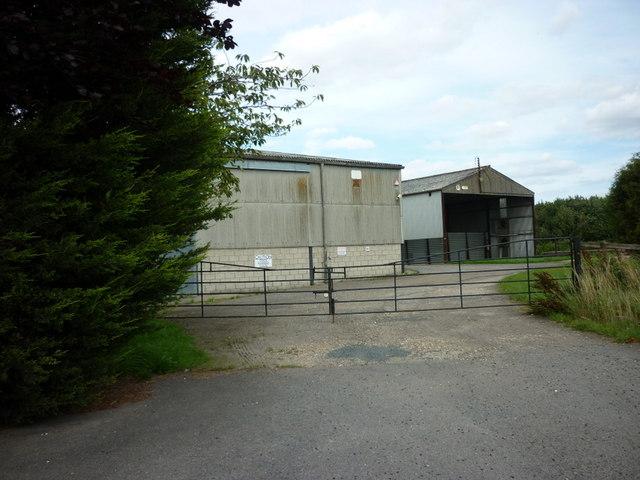 Farm buildings at The Grange, Wansford