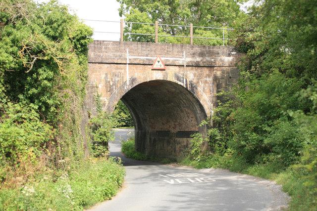 Railway Bridge on the Bristol to Birmingham line