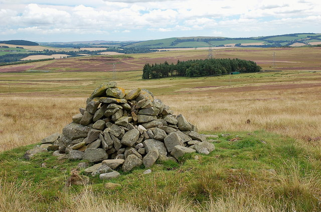 Cairn on Lauder Common