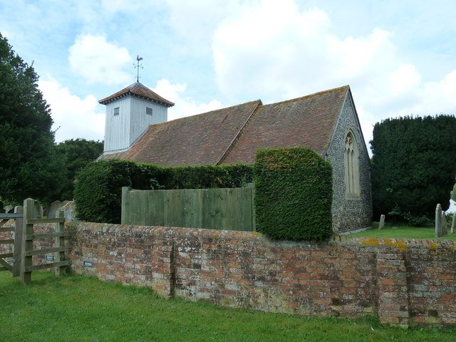 St Mary Mapledurwell in August 2011