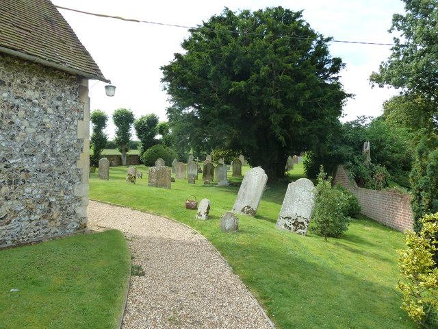 St Mary Mapledurwell: churchyard (2)