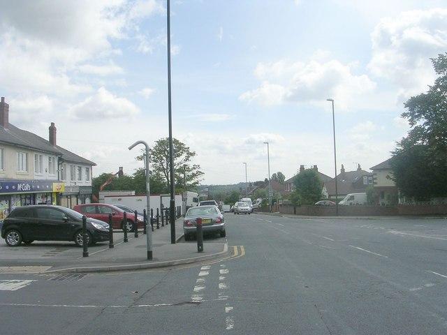 Broadgate Lane - viewed from King George Road