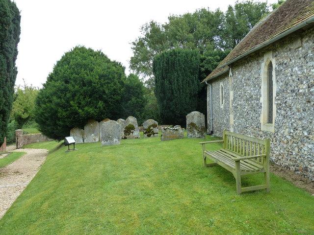 St Mary Mapledurwell: churchyard (4)