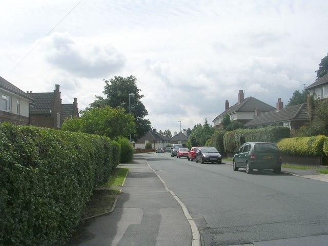 King Edward Avenue - Broadgate Lane
