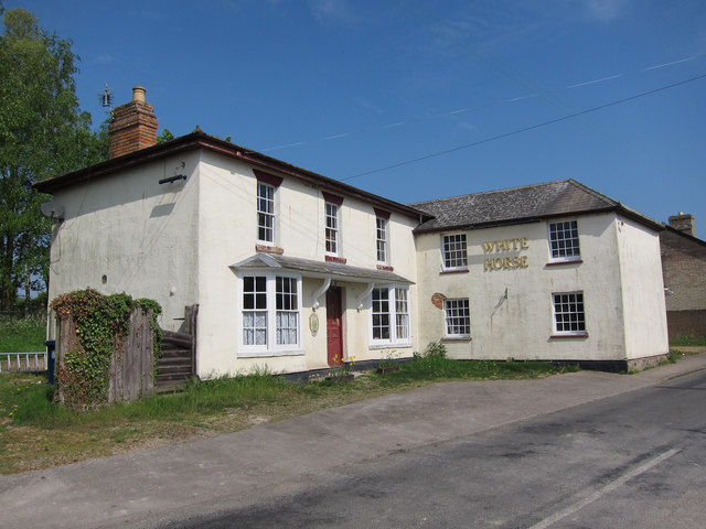 White Horse former pub, West Wickham
